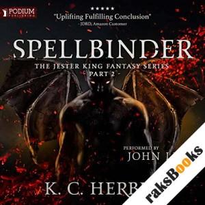 Spellbinder audiobook cover art