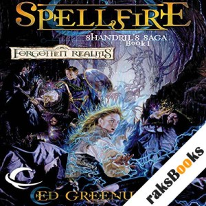 Spellfire audiobook cover art