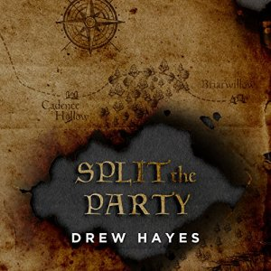 Split the Party audiobook cover art