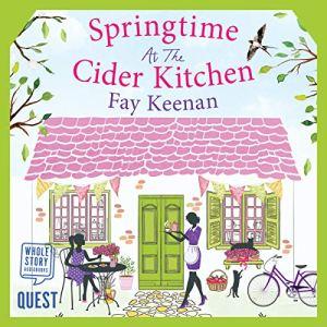 Springtime at the Cider Kitchen audiobook cover art