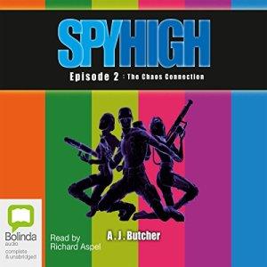 Spy High Episode 2 audiobook cover art