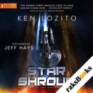 Star Shroud audiobook cover art