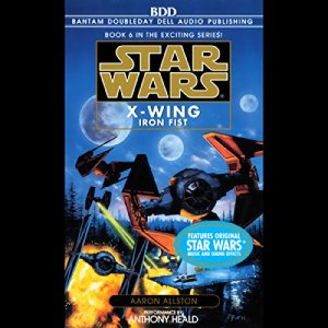 Star Wars: The X-Wing Series, Volume 6: Iron Fist audiobook cover art