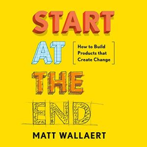 Start at the End audiobook cover art