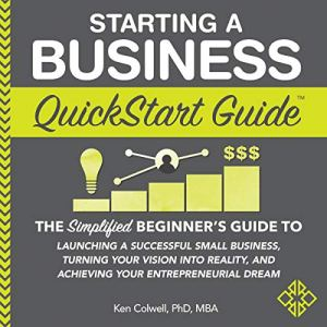 Starting a Business QuickStart Guide audiobook cover art