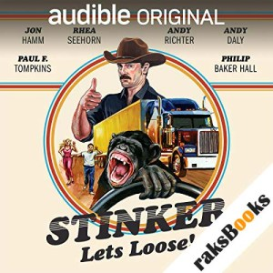 Stinker Lets Loose! audiobook cover art