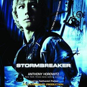 Stormbreaker audiobook cover art
