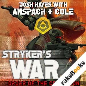 Stryker's War audiobook cover art