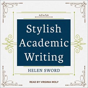Stylish Academic Writing audiobook cover art