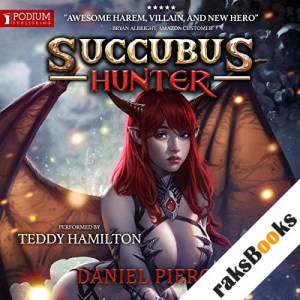 Succubus Hunter audiobook cover art