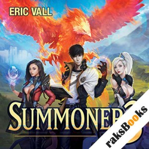 Summoner 3 audiobook cover art
