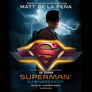 Superman: Dawnbreaker audiobook cover art