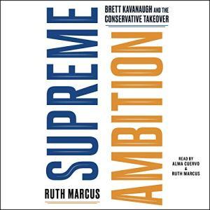 Supreme Ambition audiobook cover art