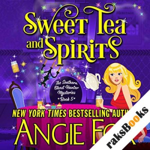 Sweet Tea and Spirits audiobook cover art