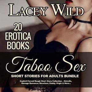 Taboo Sex Short Stories for Adults Bundle: 20 Erotica Books audiobook cover art