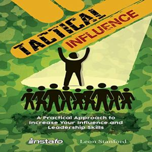 Tactical Influence audiobook cover art