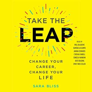 Take the Leap audiobook cover art