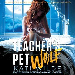 Teacher's Pet Wolf audiobook cover art