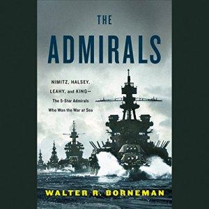 The Admirals audiobook cover art