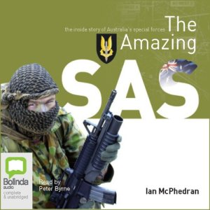 The Amazing SAS audiobook cover art