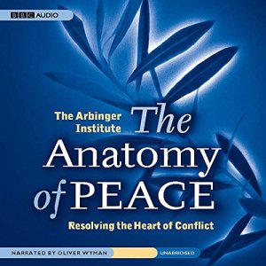 The Anatomy of Peace audiobook cover art