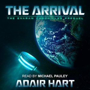The Arrival audiobook cover art