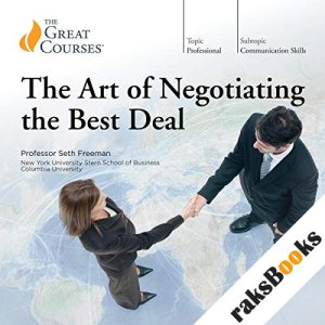 The Art of Negotiating the Best Deal audiobook cover art