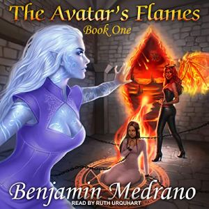 The Avatar's Flames audiobook cover art