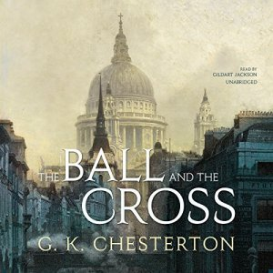 The Ball and the Cross audiobook cover art