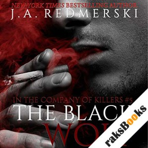 The Black Wolf audiobook cover art