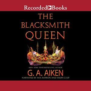 The Blacksmith Queen audiobook cover art