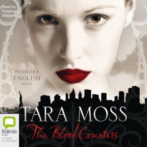 The Blood Countess audiobook cover art