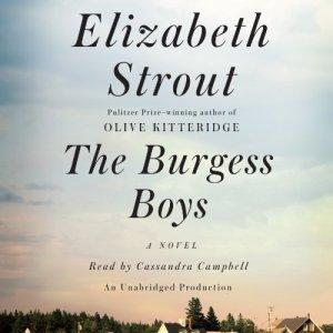 The Burgess Boys audiobook cover art