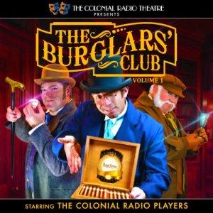 The Burglars' Club, Volume 1 audiobook cover art