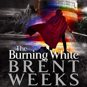 The Burning White audiobook cover art
