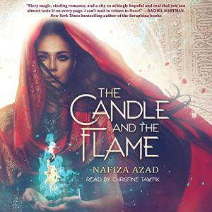 The Candle and the Flame audiobook cover art