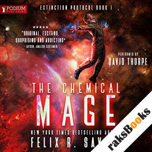The Chemical Mage audiobook cover art
