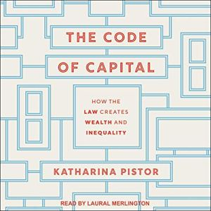The Code of Capital audiobook cover art