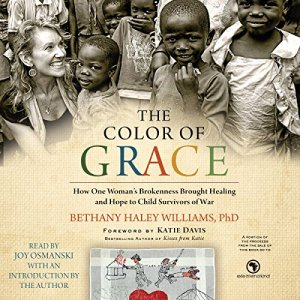 The Color of Grace audiobook cover art