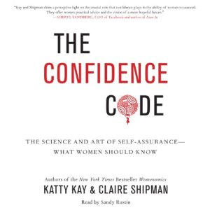 The Confidence Code audiobook cover art