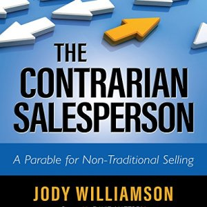 The Contrarian Salesperson audiobook cover art