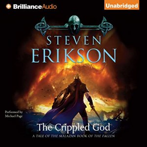 The Crippled God audiobook cover art