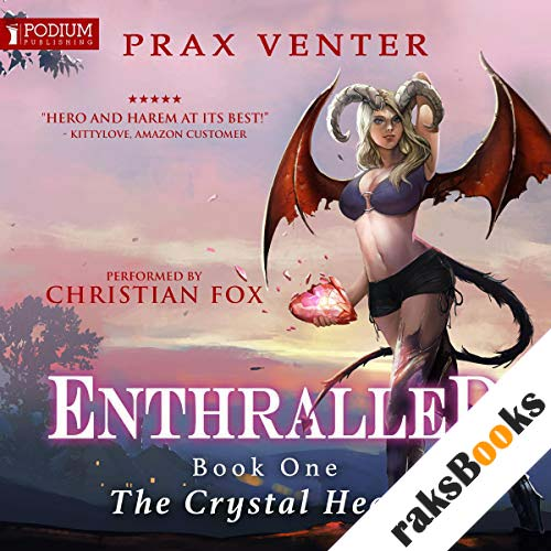 The Crystal Heart audiobook cover art