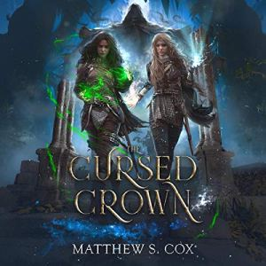 The Cursed Crown audiobook cover art