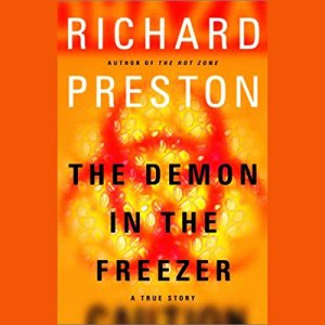 The Demon in the Freezer audiobook cover art