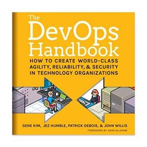 The DevOps Handbook audiobook cover art