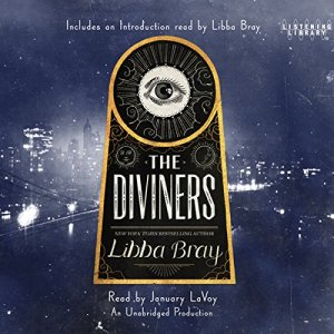 The Diviners audiobook cover art