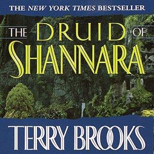 The Druid of Shannara audiobook cover art