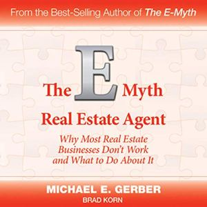 The E-Myth Real Estate Agent audiobook cover art