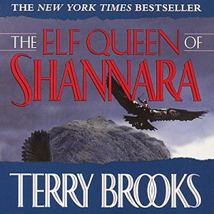 The Elf Queen of Shannara audiobook cover art
